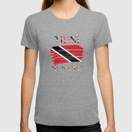 Trini To D Bone| Trinidad and Tobago Flag T-shirt