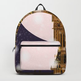 London Christmas Eve Backpack