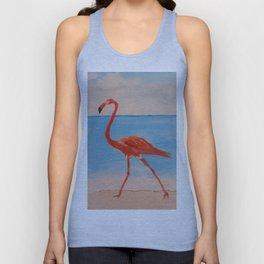 love flamingo Unisex Tank Top
