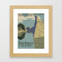 Fort Marion Framed Art Print