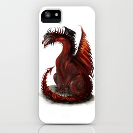 Challenger Lone Dragon Abstract iPhone Case