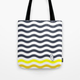 #011 OWLY thick dunes Tote Bag