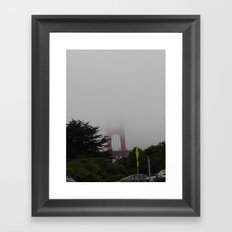 Peek-a-boo! Framed Art Print