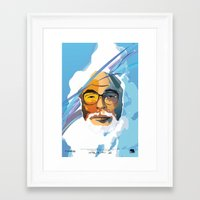 nausicaa Framed Art Prints featuring Miyazaki by zero Bounty