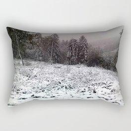 Winter forest Rectangular Pillow