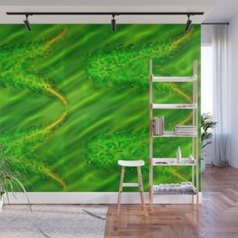 Pattern by nature's colors, green ... Wall Mural