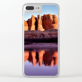 Colorado River Clear iPhone Case