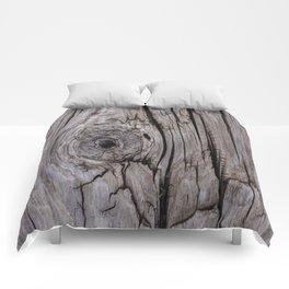 Wood Knot Wood Texture Comforters