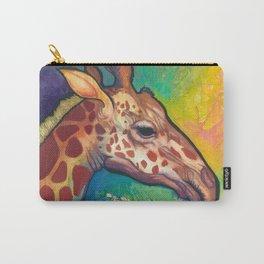 Lucky Giraffe Spirit Carry-All Pouch