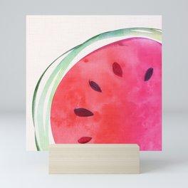Watermelon Whimsy Mini Art Print