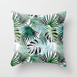 Tropical dreams . Throw Pillow