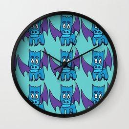 Xavier the PuppyDragon Wall Clock