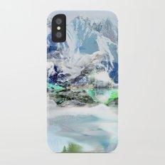 French Alp scene Slim Case iPhone X