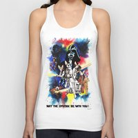starwars Tank Tops featuring StarWars Sphynx by Psyca