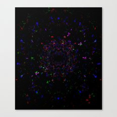 BLACK-EYE-SUN Canvas Print