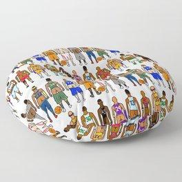 Basketball Butts Floor Pillow