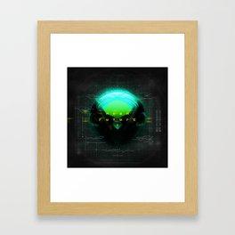 NEON FUTURE I Framed Art Print