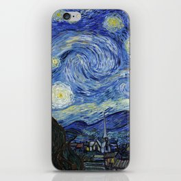 Starry Night by Vincent Van Gogh iPhone Skin