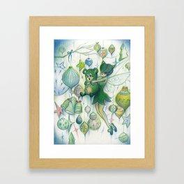 Merry Beary Framed Art Print
