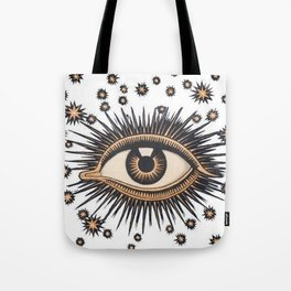 Vintage Eye Tote Bag