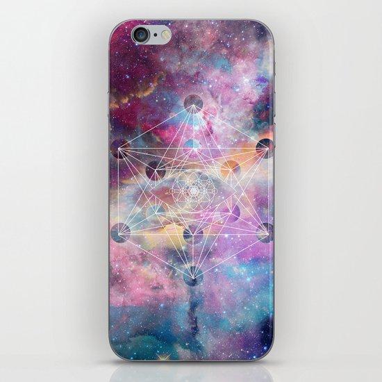 Watercolor and nebula sacred geometry  by inovarts