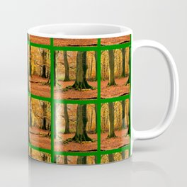 Autumn Forest Mosaic Coffee Mug