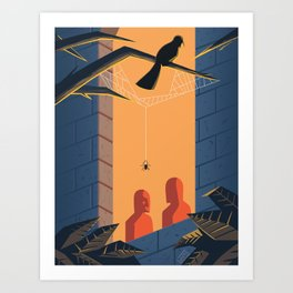 The Shadows - WORDLESS Art Print