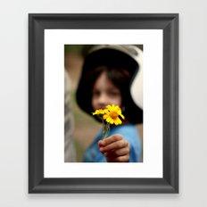 For You Framed Art Print