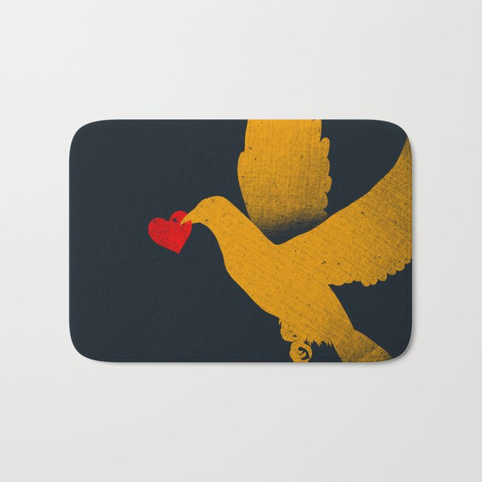 Love Valentine's Day Gift Bath Mat