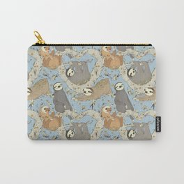 Sloths and Vanilla Carry-All Pouch