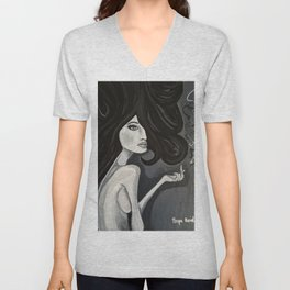 """ef"" off girl (part 2) Unisex V-Neck"