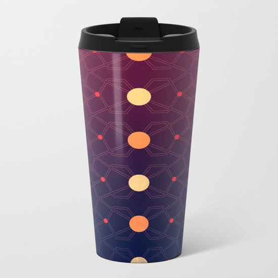 Connecting the dots Metal Travel Mug