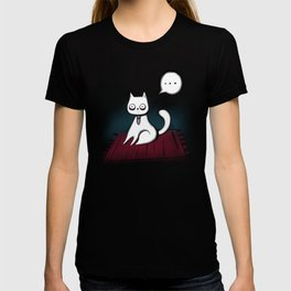 George the creepy cat T-shirt