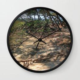 Path through the Mangroves Wall Clock