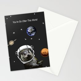 You're So Otter This World Stationery Cards