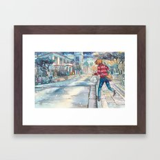 Cold In Yokohama #07 Framed Art Print