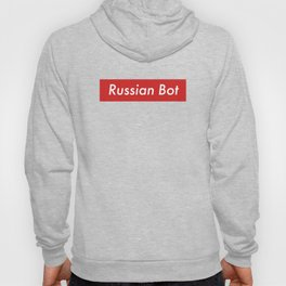 Russian Bot Trendy Vintage Hacker Political Spy Box Clean Hoody