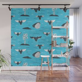 Whale Tails (The Humpback Kind!) Wall Mural