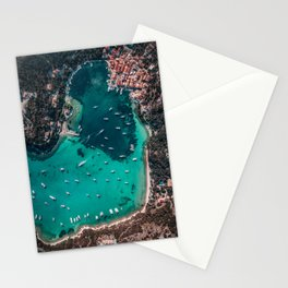 Town of Lakka, Greece Stationery Cards
