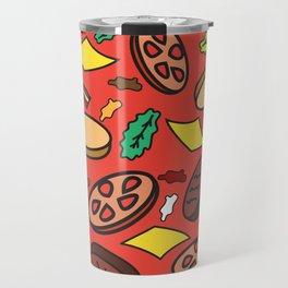 """u 4got the picklz"" Repeating Pattern Travel Mug"
