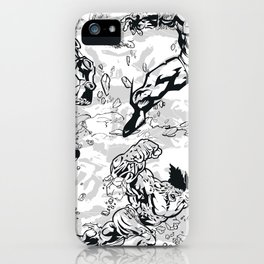 Comics iPhone Case