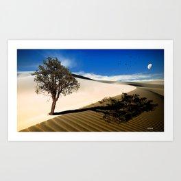 Desert Tree... Art Print