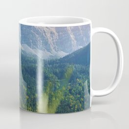 Grass Mountain View (Color) Coffee Mug