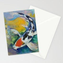 Tancho Sanke Koi Stationery Cards