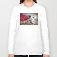 akira Long Sleeve T-shirts featuring Akira Tetsuo  by Joe Badon