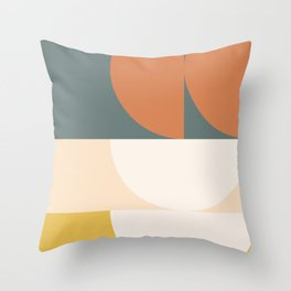 Abstract Geometric 02 Throw Pillow