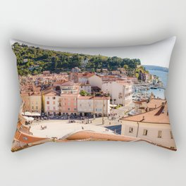 Mediterranean Summer Rectangular Pillow