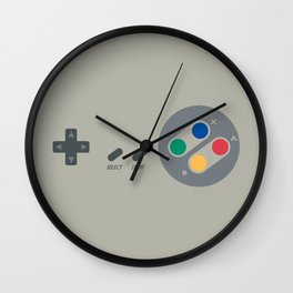 SNES controller Wall Clock