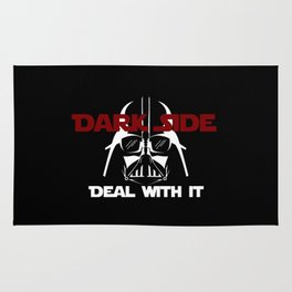 Dark Side, deal with it! Rug