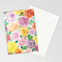 Total Floral Stationery Cards